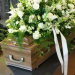 At forberede sig på en begravelse.