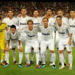 Real Madrid fodboldhold spillerbillede